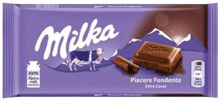 CHOCOLATE MILKA 100G