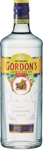 GIN INGLÊS GORDON'S 750 ml