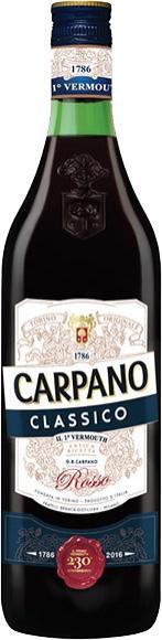 VERMOUTH ITALIANO CARPANO CLÁSSICO 750ML
