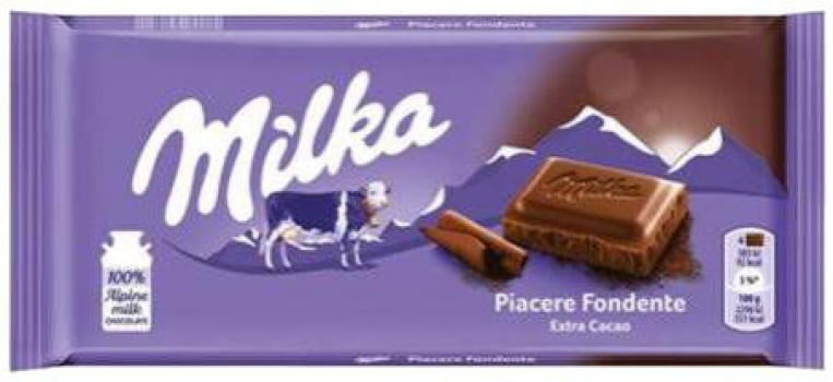 CHOCOLATE MILKA 100G