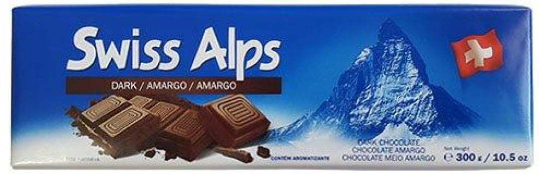 CHOCOLATE SUIÇO SWISS ALPS 300G