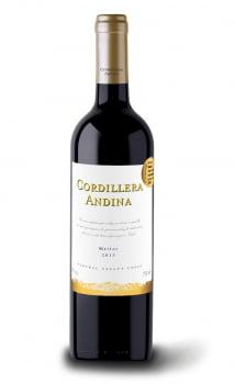 VINHO CORDILLERA ANDINA MERLOT 750ML