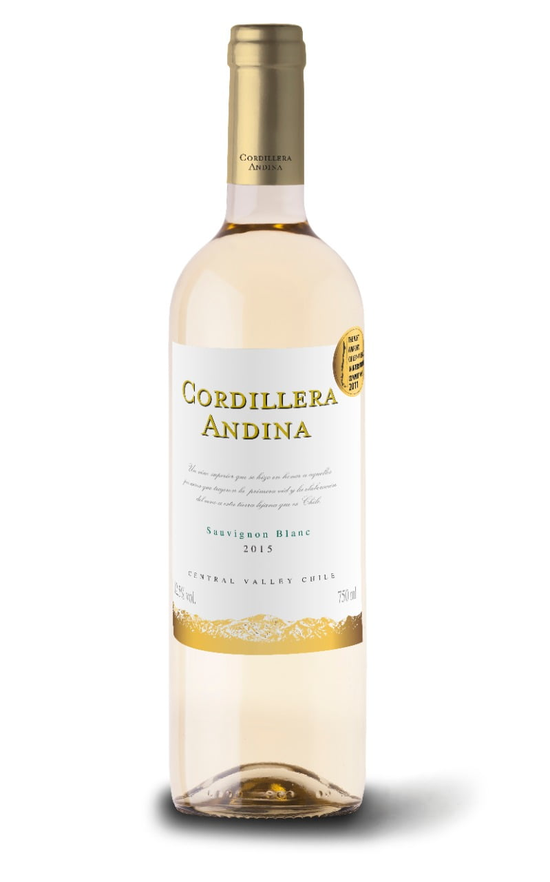 VINHO CORDILLERA ANDINA SAUVIGNON BLANC 750ML