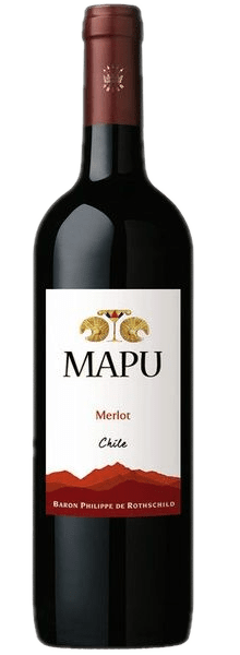 VINHO MAPU MERLOT 750ML