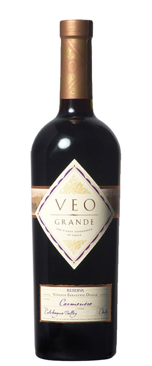 VINHO VEO GRANDE RESERVA CARMENERE 750ML
